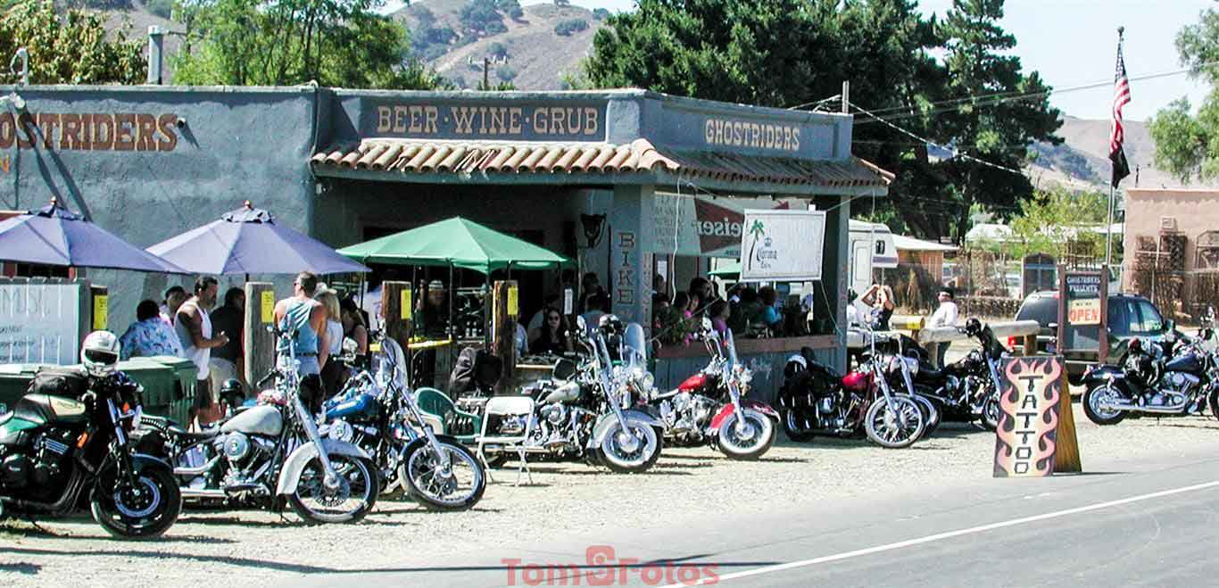 Motorcycles at Los Alamos Old Days