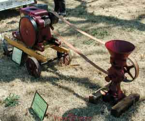 Example Mill at Los Alamos Old Days