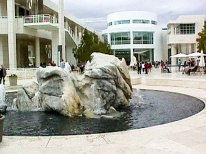 Getty Courtyard