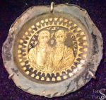 Gold Portrait of Peter and Paul