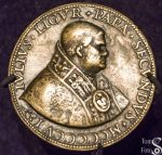 Bronze Medal of Pope Julius II