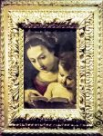 Virgin Mary with Infant Jesus and Book in Hands