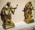 Statues of Saints John and Andrew