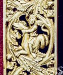 Resin Casts of Ivory Friezes on Peter's Chair Detail