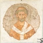 Surviving Fresco of Saint Telesphorus